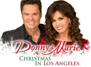 Donny & Marie - Christmas in Los Angeles Tickets