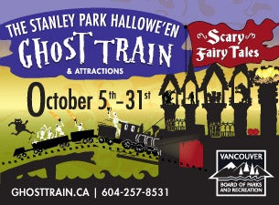 Stanley Park Halloween Ghost Train Tickets