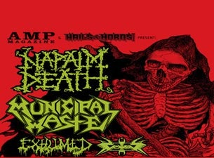 Napalm Death Tickets