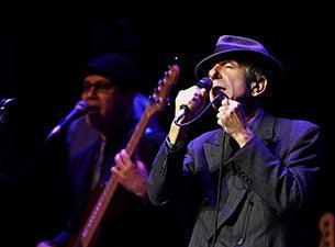 Leonard CohenTickets