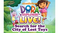Dora the Explorer Live! Search for the City of Lost Toys presale code for kids show tickets in Toronto, ON (Sony Centre For The Performing Arts)