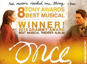 Once - a New Musical Tickets