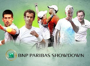 BNP Paribas Showdown Tennis Tickets
