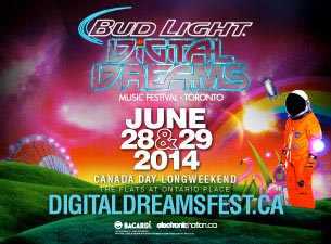 Digital Dreams Music Festival Tickets
