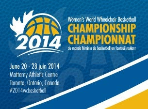 Women's World Wheelchair Basketball Championship Tickets