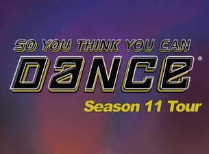 So You Think You Can Dance - Live TourTickets