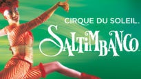 Cirque du Soleil : Saltimbanco Tickets