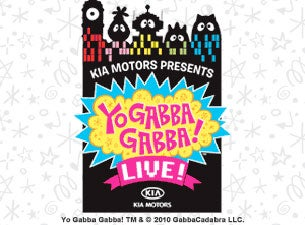 Yo Gabba Gabba! Live!: There's a Party In My City! Tickets