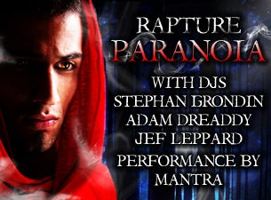 Rapture : Paranoia 3 Tickets