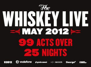 THE WHISKEY LIVE Tickets