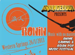 Ronin Tickets