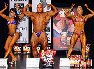 Mutant Nabba National Bodybuilding Championship Tickets