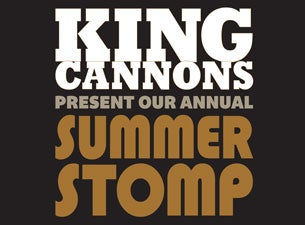 King Cannons Tickets