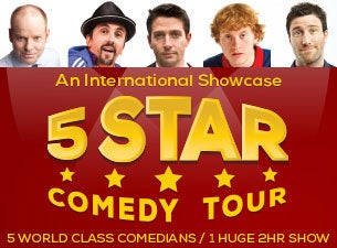 5 Star Comedy Tour Tickets