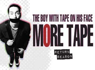 The Boy With The Tape On His Face Tickets