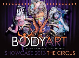 NZ Body Art Showcase Tickets
