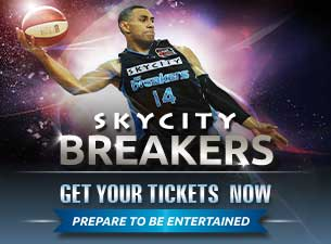 SKYCITY Breakers Tickets