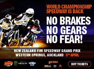 New Zealand FIM Speedway Grand Prix Tickets