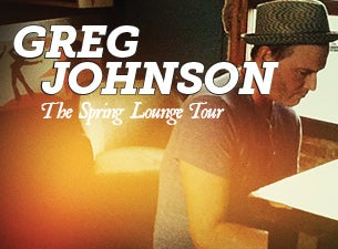 Greg Johnson Tickets