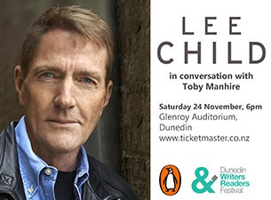 Dunedin Writers and Readers Festival - Lee Child