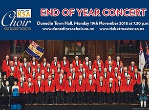 Dunedin RSA Choir End of Year Concert 2018