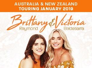 Brittany Raymond and Victoria Baldesarra