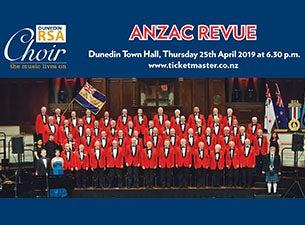 Dunedin RSA Choir ANZAC Revue 2019