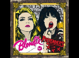 Blondie & The Pretenders Tickets