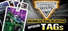 Monster Jam Official Tour TAGS