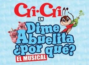 Dime Abuelita ¿Por qué? con las canciones de CriCri