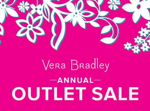 Vera Bradley Annual Outlet Sale