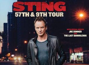 STING 57th & 9th Tour