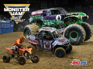 Monster Jam Triple Threat Series presented by AMSOIL