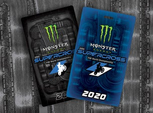 Monster Energy Supercross – Official Souvenir Tag