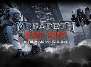 Megadeth Boot Camp The Ultimate Fan Experience