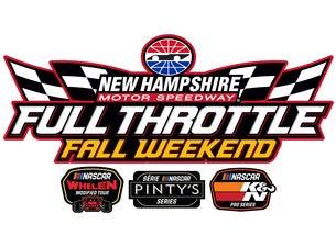 Full Throttle Fall Weekend