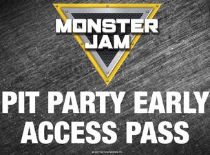 Monster Jam Pit Party: Early Access Pass