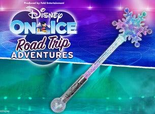 Disney On Ice! Road Trip Adventures Snowflake Light-Up Wand