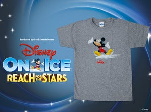 Disney On Ice! Reach For the Stars Mickey Skate T-Shirt