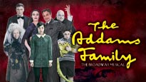 THE ADDAMS FAMILY discount offer for musical in Ft Lauderdale, FL (Broward Ctr for the Perf Arts Au Rene Theatre)