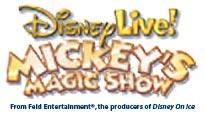 Disney Live! Mickey Magic Show password for show tickets.