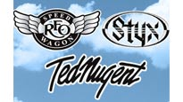 Styx, Reo Speedwagon, and Ted Nugent pre-sale password for concert tickets in Alpharetta, GA (Verizon Wireless Amphitheatre at Encore Park)