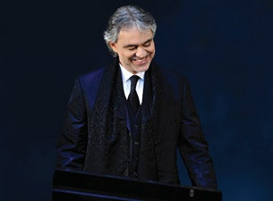 Andrea Bocelli In Concert with the San Francisco Symphony and Chorus