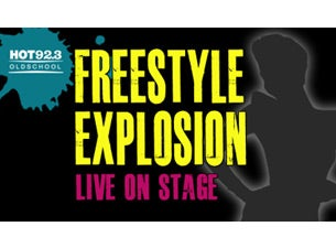 Hot 92.3 Presents Freestyle Explosion Tickets