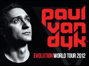 Paul Van Dyk Tickets