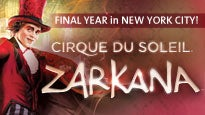 discount code for Cirque Du Soleil: Zarkana tickets in New York - NY (Radio City Music Hall)