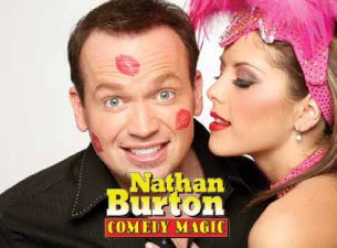 Nathan Burton Comedy Magic Tickets