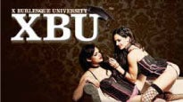 X Burlesque University Tickets