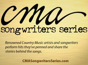 CMA Songwriters Tickets