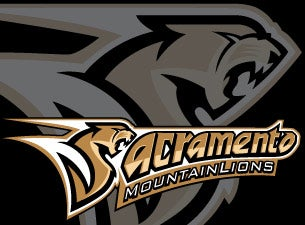 Sacramento Mountain Lions Tickets